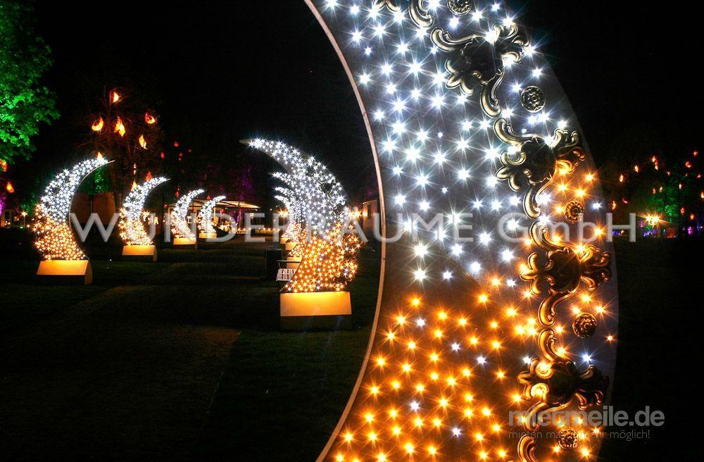 Weihnachtsdekoration mieten & vermieten - Halbmonde - WUNDERRÄUME GmbH vermietet: Dekoration/Kulisse für Event, Messe, Veranstaltung, Incentive, Mitarbeiterfest, Firmenjubiläum in Lichtenstein/Sachsen