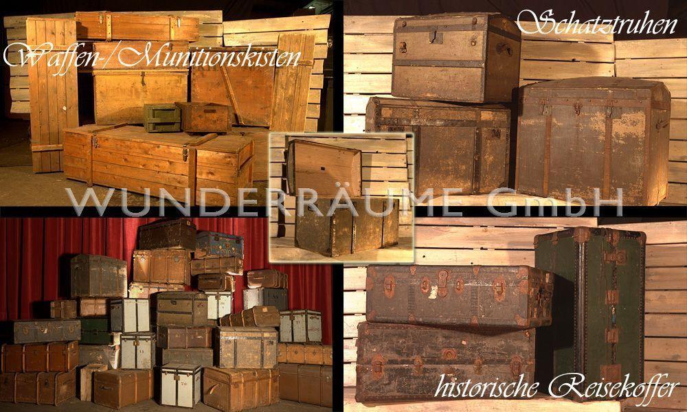 Antik & Rustikal mieten & vermieten - nostalgische Kisten & Truhen in Lichtenstein/Sachsen