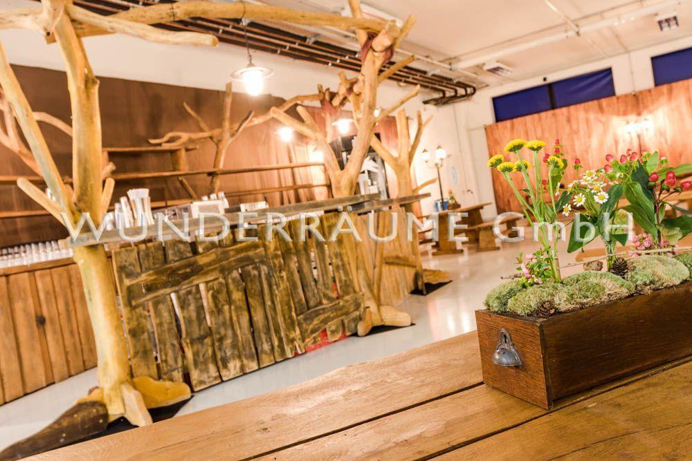 Kulissen mieten & vermieten - Wald-Bar - WUNDERRÄUME GmbH vermietet: Dekoration/Kulisse für Event, Messe, Veranstaltung, Incentive, Mitarbeiterfest, Firmenjubiläum in Lichtenstein/Sachsen