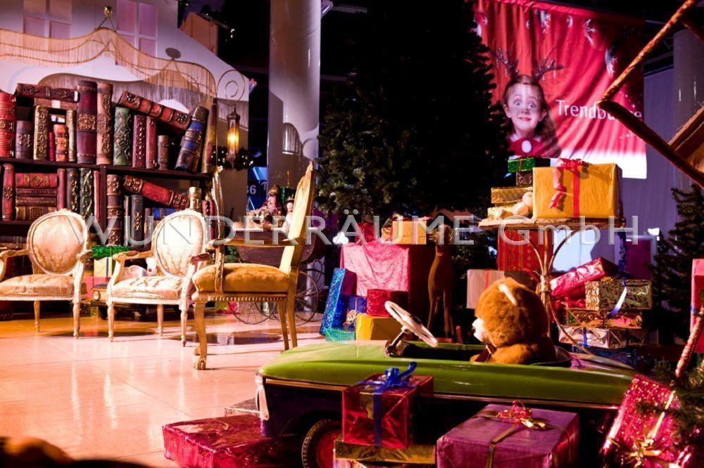 """Saisonale Dekoration mieten & vermieten - Märchenzimmer """"Weihnachtsmann"""" - WUNDERRÄUME GmbH vermietet: Dekoration/Kulisse für Event, Messe, Veranstaltung, Incentive, Mitarbeiterfest, Firmenjubiläum in Lichtenstein/Sachsen"""