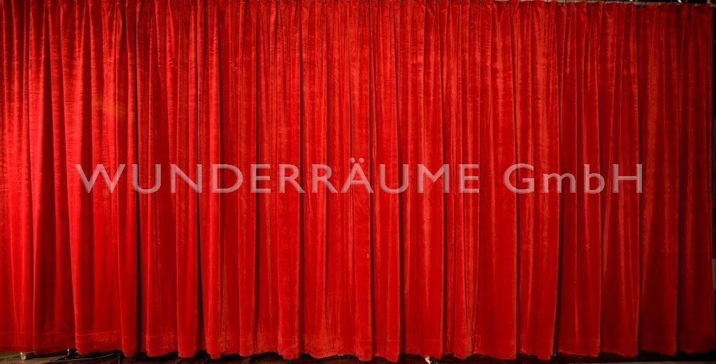 Kulissen mieten & vermieten - Theatervorhang - WUNDERRÄUME GmbH vermietet: Dekoration/Kulisse für Event, Messe, Veranstaltung, Incentive, Mitarbeiterfest, Firmenjubiläum in Lichtenstein/Sachsen