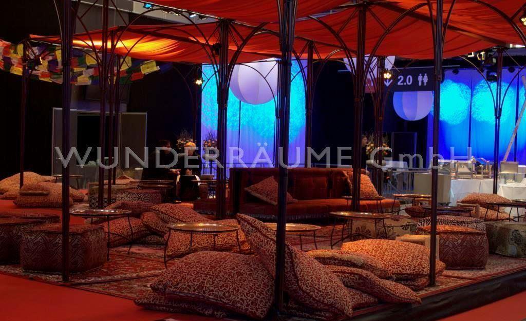 Kulissen mieten & vermieten - Oriental Lounge 1 - WUNDERRÄUME GmbH vermietet: Dekoration/Kulisse für Event, Messe, Veranstaltung, Incentive, Mitarbeiterfest, Firmenjubiläum in Lichtenstein/Sachsen