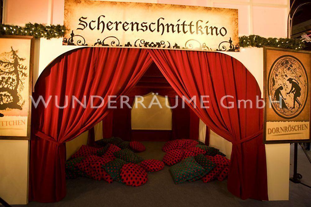 Kulissen mieten & vermieten - Scherenschnittkino in Lichtenstein/Sachsen