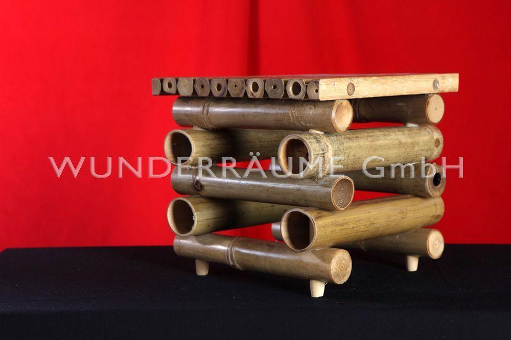 Tischdekoration mieten & vermieten - Dekohocker Bambus in Lichtenstein/Sachsen