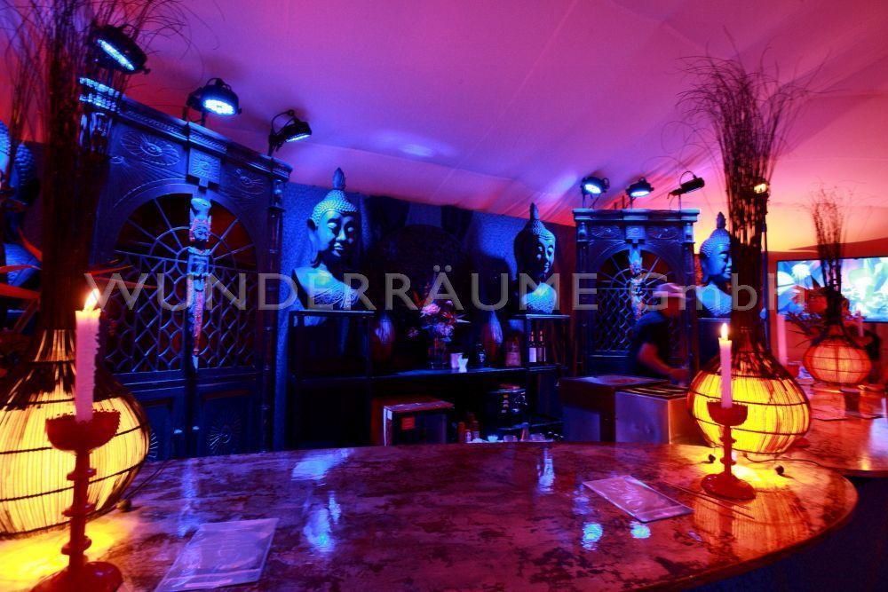 Mobile Bar mieten & vermieten - Buddha-Bar - WUNDERRÄUME GmbH vermietet: Dekoration/Kulisse für Event, Messe, Veranstaltung, Incentive, Mitarbeiterfest, Firmenjubiläum in Lichtenstein/Sachsen