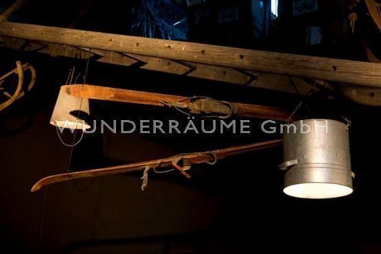 Kulissen mieten & vermieten - rustikale Leiterndekoration - WUNDERRÄUME GmbH vermietet: Dekoration/Kulisse für Event, Messe, Veranstaltung, Incentive, Mitarbeiterfest, Firmenjubiläum in Lichtenstein/Sachsen