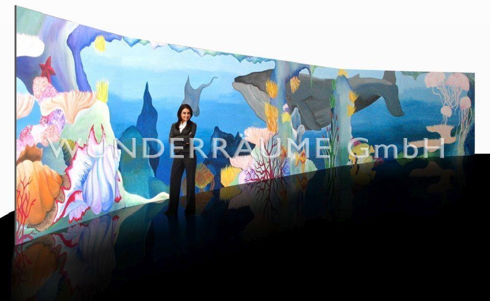 """Kulissen mieten & vermieten - Prospekt """"Unterwasserwelt"""" - WUNDERRÄUME GmbH vermietet: Dekoration/Kulisse für Event, Messe, Veranstaltung, Incentive, Mitarbeiterfest, Firmenjubiläum in Lichtenstein/Sachsen"""