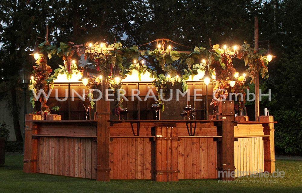 Mobile Bar mieten & vermieten - Weinbar - WUNDERRÄUME GmbH vermietet: Dekoration/Kulisse für Event, Messe, Veranstaltung, Incentive, Mitarbeiterfest, Firmenjubiläum in Lichtenstein/Sachsen
