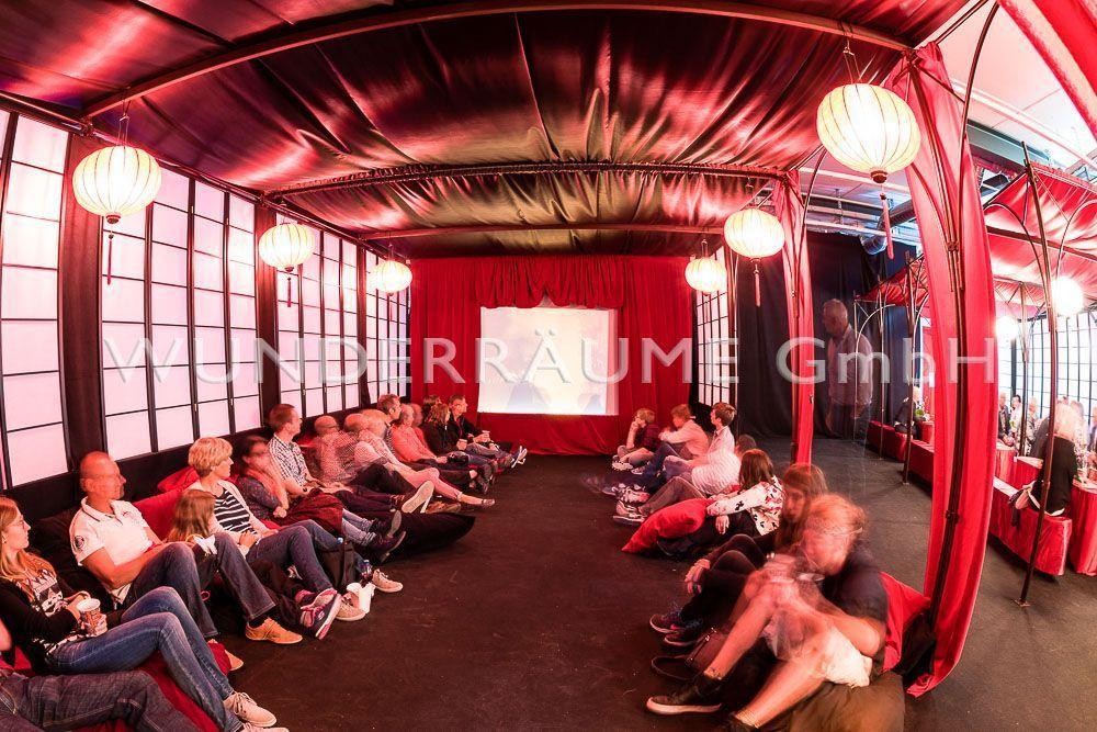Kulissen mieten & vermieten - Asienpavillon schwarz in Lichtenstein/Sachsen