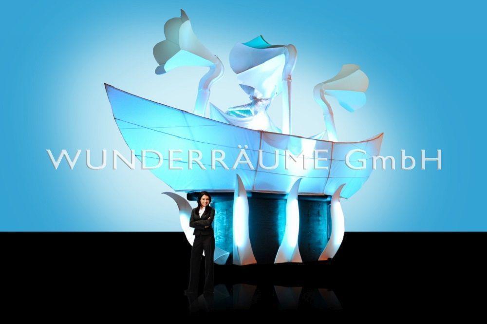 Maritime Deko & Schiffsmodelle mieten & vermieten - Weißes Schiff, mit Tröten - WUNDERRÄUME GmbH vermietet: Dekoration/Kulisse für Event, Messe, Veranstaltung, Incentive, Mitarbeiterfest, Firmenjubiläum in Lichtenstein/Sachsen