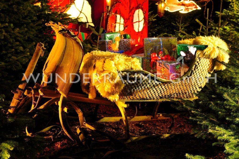 """Weihnachtsdekoration mieten & vermieten - Märchenhaus """"Weihnachtsmann"""" - WUNDERRÄUME GmbH vermietet: Dekoration/Kulisse für Event, Messe, Veranstaltung, Incentive, Mitarbeiterfest, Firmenjubiläum in Lichtenstein/Sachsen"""