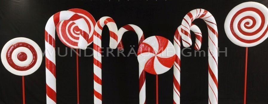 Dekofiguren mieten & vermieten - Candy-Set (18-teilig) - WUNDERRÄUME GmbH vermietet: Dekoration/Kulisse für Event, Messe, Veranstaltung, Incentive, Mitarbeiterfest, Firmenjubiläum in Lichtenstein/Sachsen