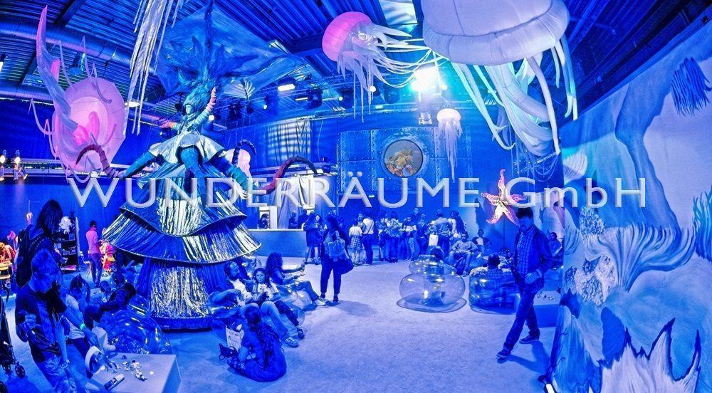 """Kulissen mieten & vermieten - Leinwand """"Bullauge"""" - WUNDERRÄUME GmbH vermietet: Dekoration/Kulisse für Event, Messe, Veranstaltung, Incentive, Mitarbeiterfest, Firmenjubiläum in Lichtenstein/Sachsen"""