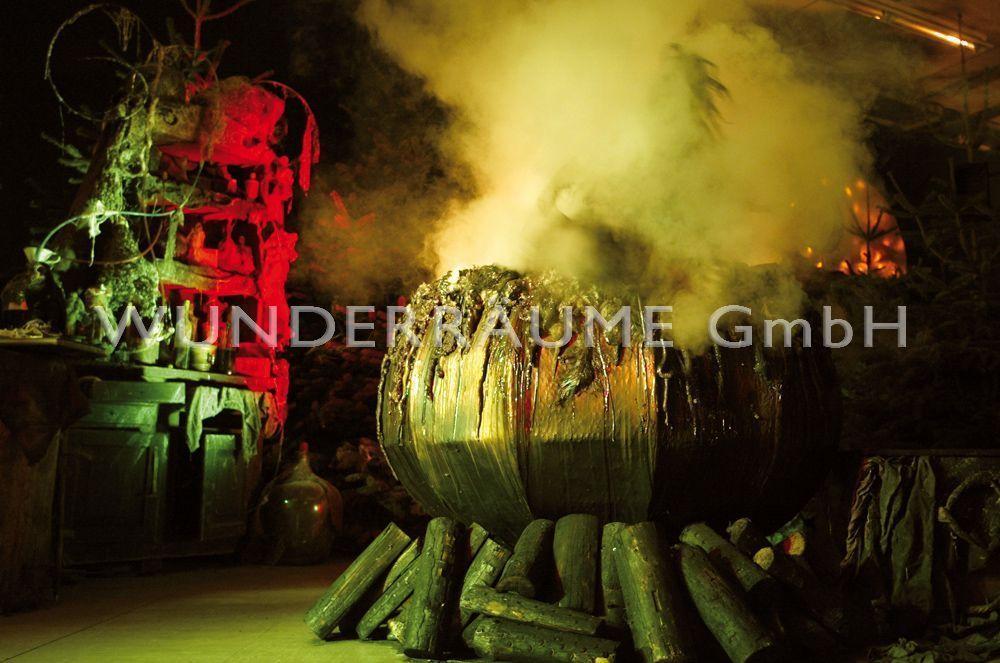 Kulissen mieten & vermieten - Hexenkessel - WUNDERRÄUME GmbH vermietet: Dekoration/Kulisse für Event, Messe, Veranstaltung, Incentive, Mitarbeiterfest, Firmenjubiläum in Lichtenstein/Sachsen