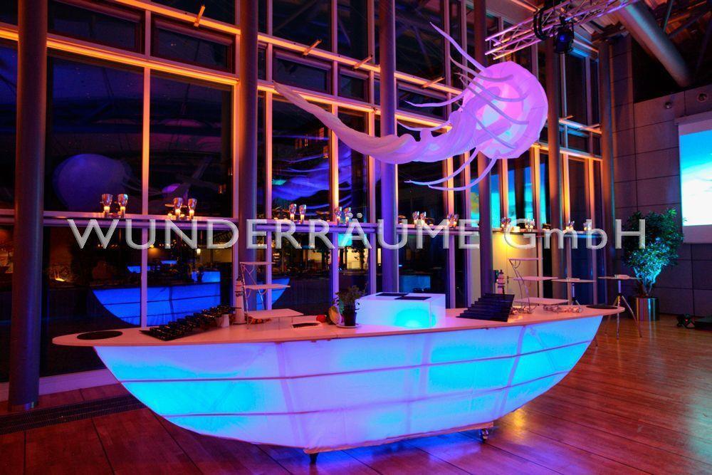 Kulissen mieten & vermieten - Stehtisch Boot - WUNDERRÄUME GmbH vermietet: Dekoration/Kulisse für Event, Messe, Veranstaltung, Incentive, Mitarbeiterfest, Firmenjubiläum in Lichtenstein/Sachsen