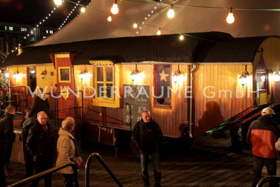 Weihnachtsdekoration mieten & vermieten - Zirkuswagen als Märchenbühne od. Lounge, WUNDERRÄUME GmbH vermietet: Dekoration/Kulisse für Event, Messe, Veranstaltung, Incentive, Mitarbeiterfest, Firmenjubiläum in Lichtenstein/Sachsen
