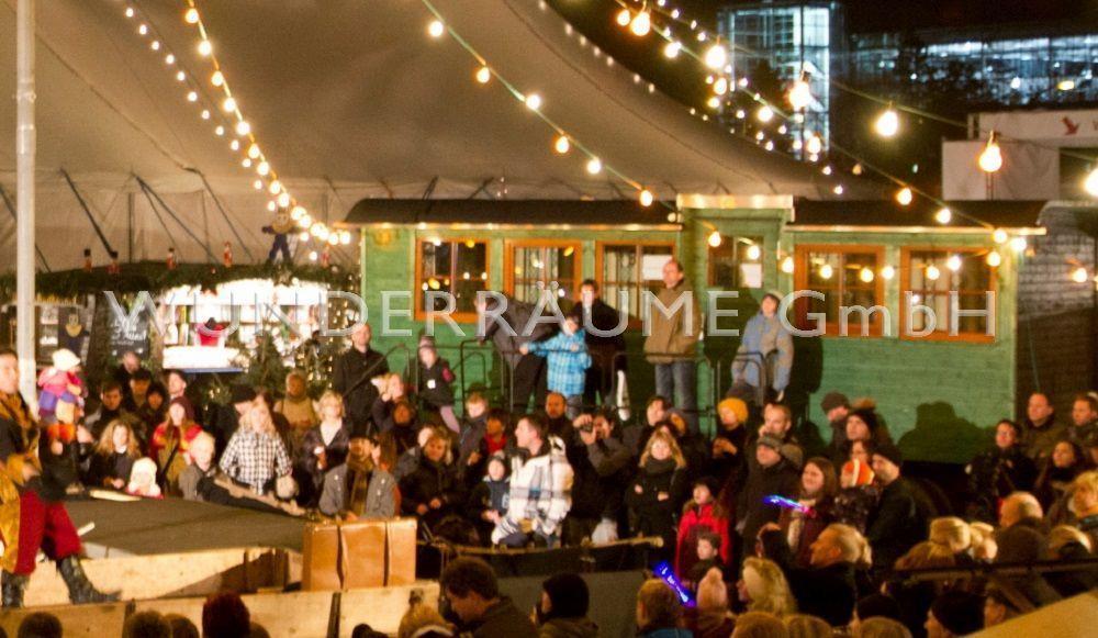 Weihnachtsdekoration mieten & vermieten - Zirkuswagen als Bar, Salon od. Lounge;  WUNDERRÄUME GmbH vermietet: Dekoration / Kulisse für Event, Messe, Veranstaltung, Incentive, Mitarbeiterfest, Firmenjubiläum in Lichtenstein/Sachsen