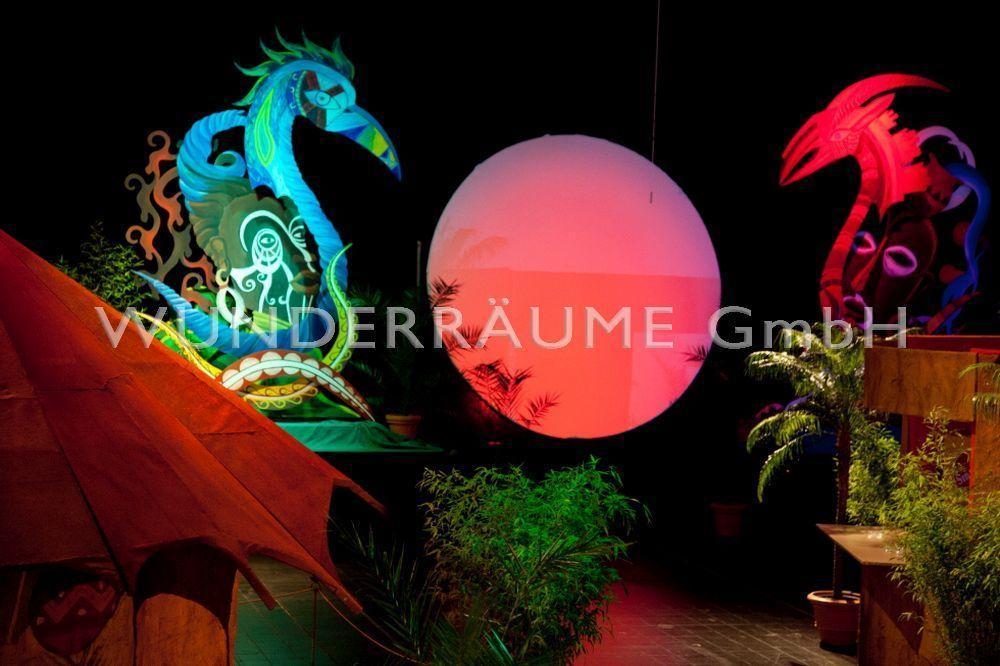 Leuchten & Lampen mieten & vermieten - Beleuchtete Scheibe - WUNDERRÄUME GMBH vermietet: Dekoration/Kulisse für Event, Messe, Veranstaltung, Incentive, Mitarbeiterfest, Firmenjubiläum in Lichtenstein/Sachsen