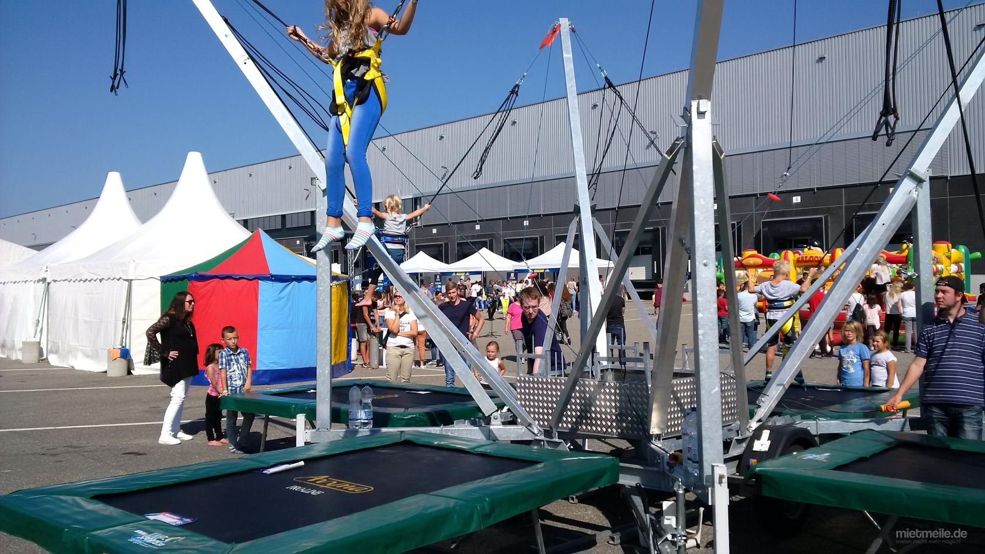Bungee mieten & vermieten - Bungee / 4er Bungee / Trampolin in Marnheim