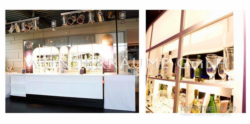 Kulissen mieten & vermieten - Bar, weiß - WUNDERRÄUME GmbH vermietet: Dekoration/Kulisse für Event, Messe, Veranstaltung, Incentive, Mitarbeiterfest, Firmenjubiläum in Lichtenstein/Sachsen