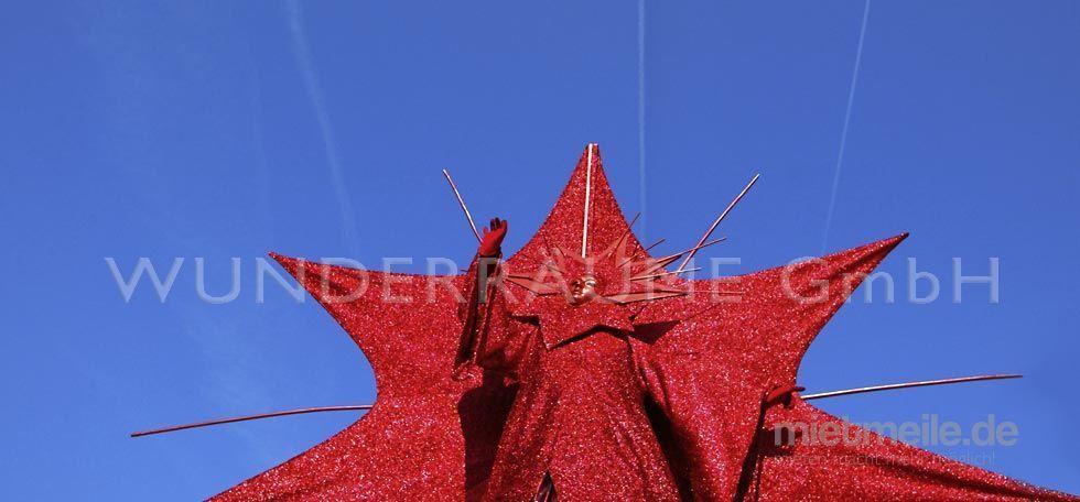 """Dekofiguren mieten & vermieten - Riesenfigur """"Stern"""" - WUNDERRÄUME GmbH vermietet: Dekoration/Kulisse für Event, Messe, Veranstaltung, Incentive, Mitarbeiterfest, Firmenjubiläum in Lichtenstein/Sachsen"""