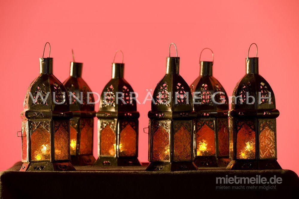 Leuchten & Lampen mieten & vermieten - Laterne - Windlicht Orient - WUNDERRÄUME GmbH vermietet: Dekoration/Kulisse für Event, Messe, Veranstaltung, Incentive, Mitarbeiterfest, Firmenjubiläum in Lichtenstein/Sachsen