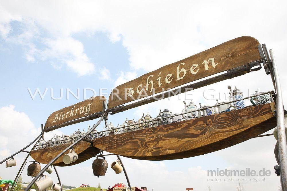 Antik & Rustikal mieten & vermieten - Bierkrugschieben - Maßkrug-Schieben - WUNDERRÄUME GmbH vermietet: Dekoration/Kulisse für Event, Messe, Veranstaltung, Incentive, Mitarbeiterfest, Firmenjubiläum in Lichtenstein/Sachsen