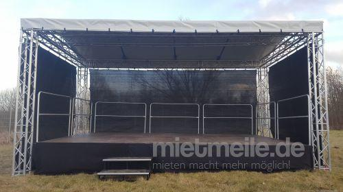 Bühne mieten & vermieten - 10 x 8m Bühne - Showbühne - Eventbühne - Open Air Bühne in Wismar