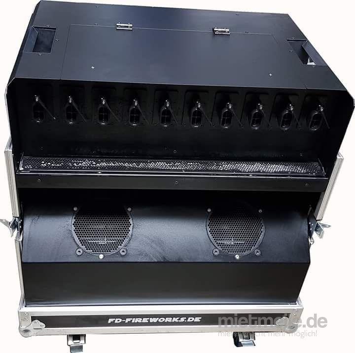 Seifenblasenmaschine mieten & vermieten - Smokebubble Blaster - Seifenblasenmaschine MagicFX in Bottrop