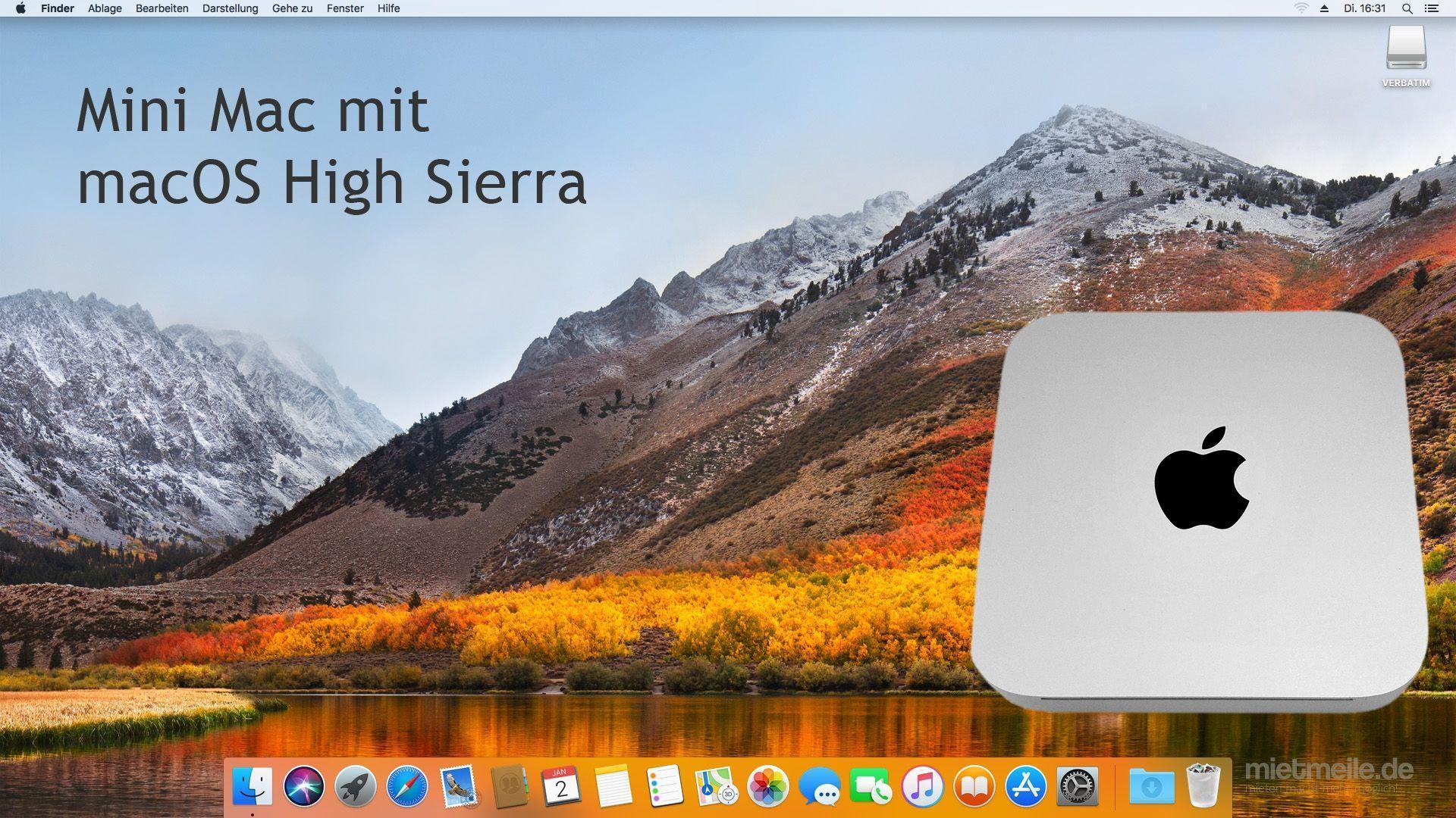 Apple mieten & vermieten - Mac Mini unibody Apple macOS High Sierra minimac macmini - Berlin Hamburg Köln Stuttgart München Leipzig Saarbrücken Duisburg Hannover Bremen Frankfurt in Berlin