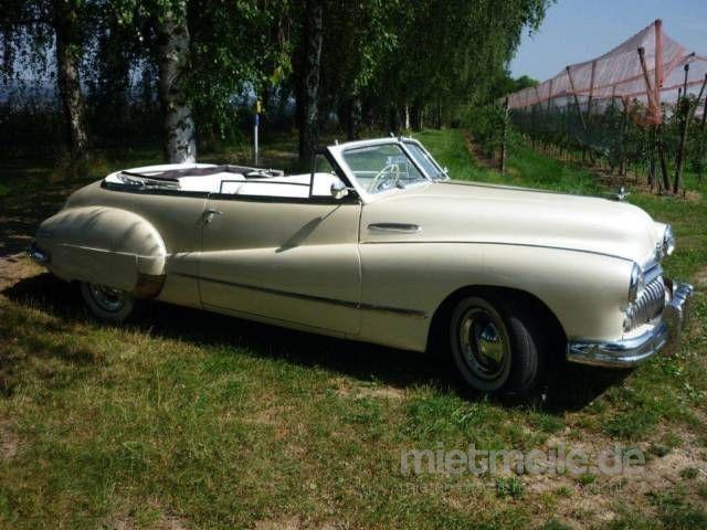 Hochzeitsauto mieten & vermieten - Limousinenservice Buick 1947 in Mömbris