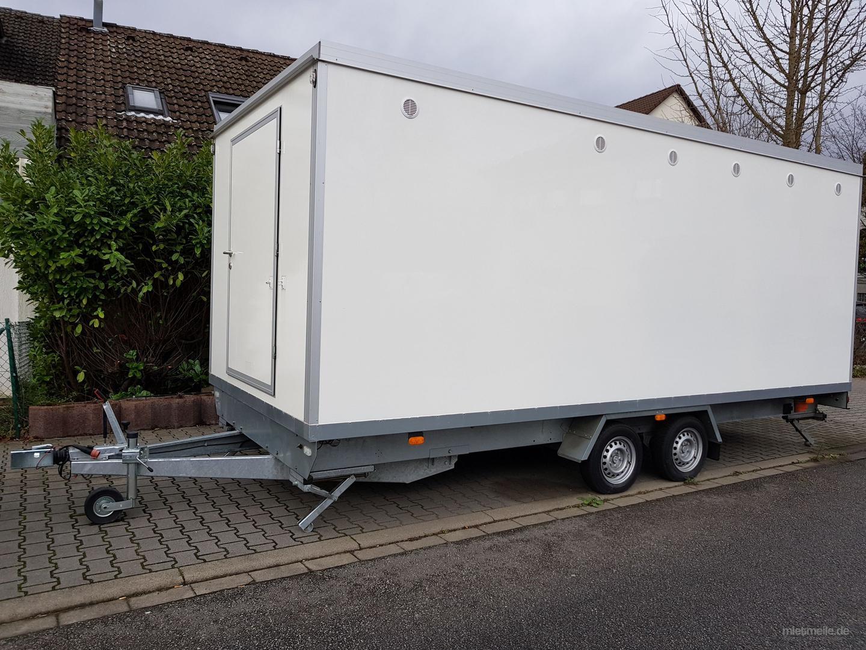 Toilettenwagen mieten & vermieten - Toilettenwagen mieten in Mannheim