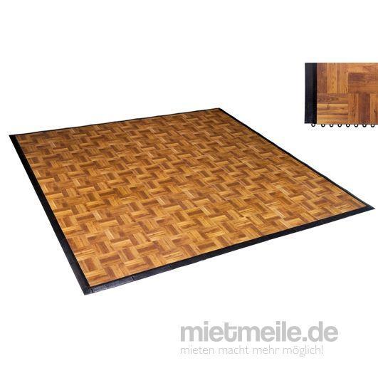 Tanzboden mieten & vermieten - mobiles Tanzparkett in Eichedekor, Platte 0,93 x 0,93m in Kaarst