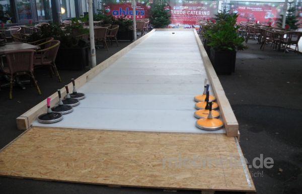 Curlingbahn mieten & vermieten - Eisstockschießen in Hamburg