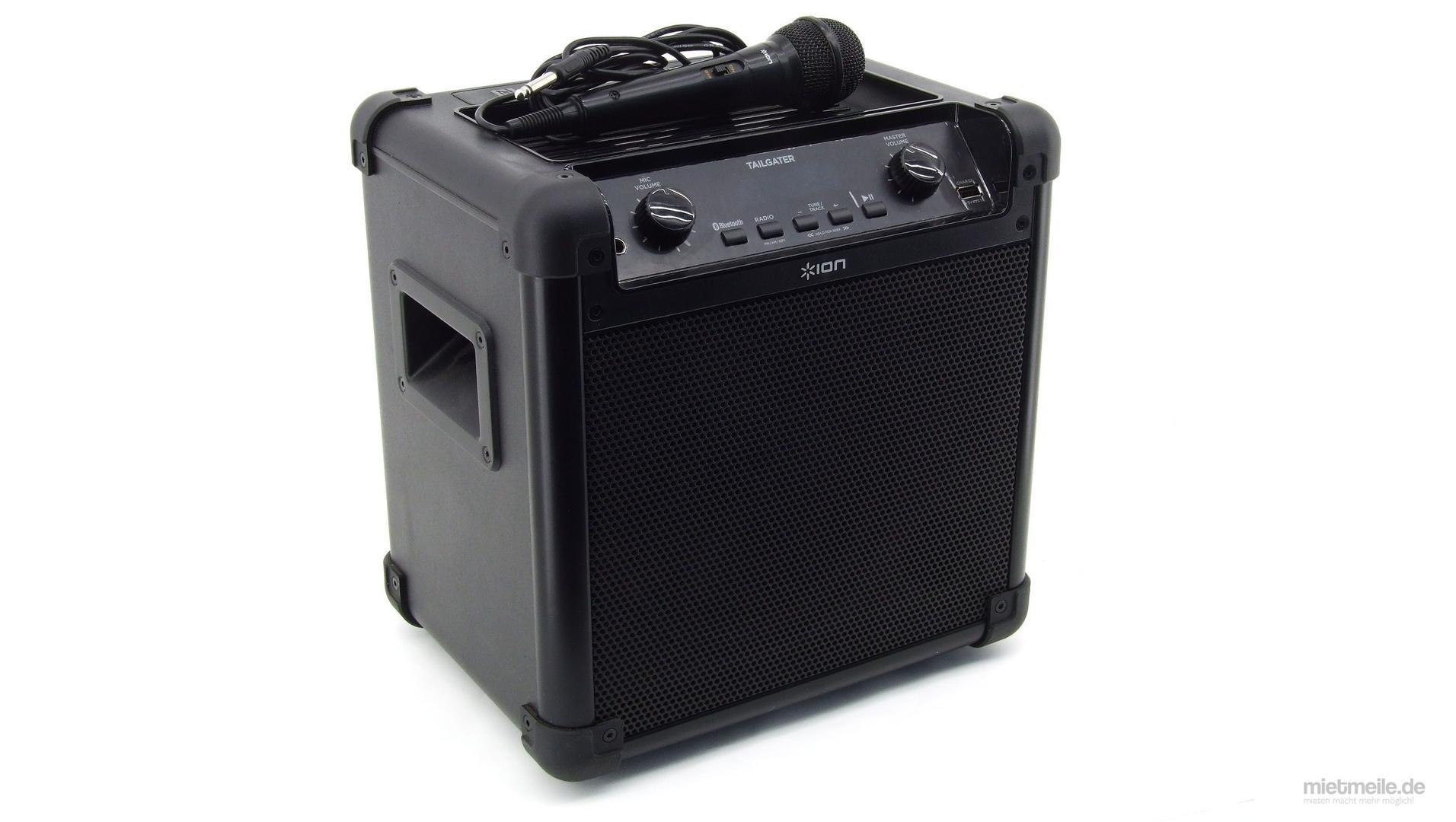Musikanlage mieten & vermieten - Mobile Musikanlage Lautsprecher Musikbox in Schkeuditz