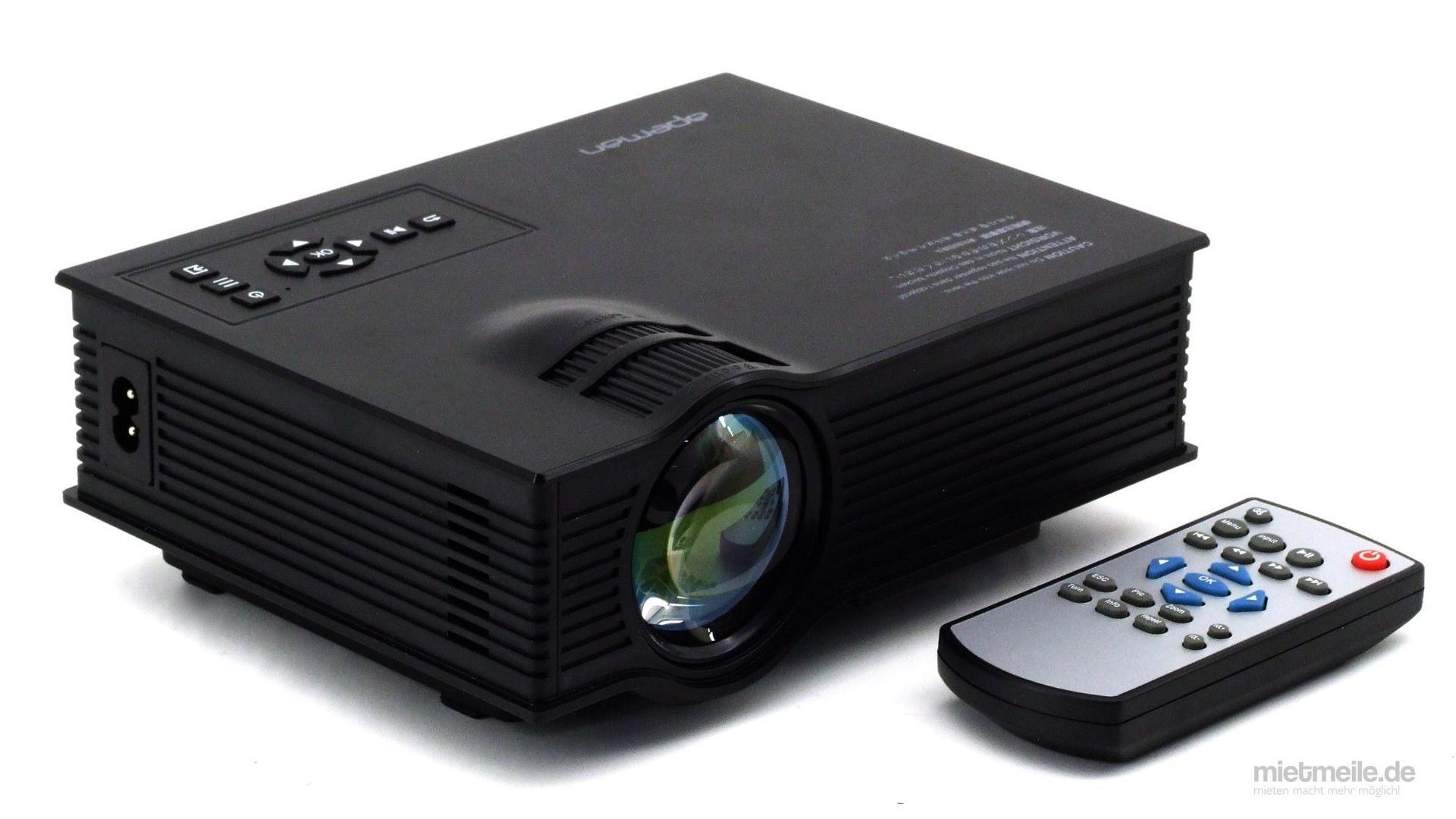 Beamer mieten & vermieten - Mini Beamer LED Projektor LCD Videoproektor in Schkeuditz