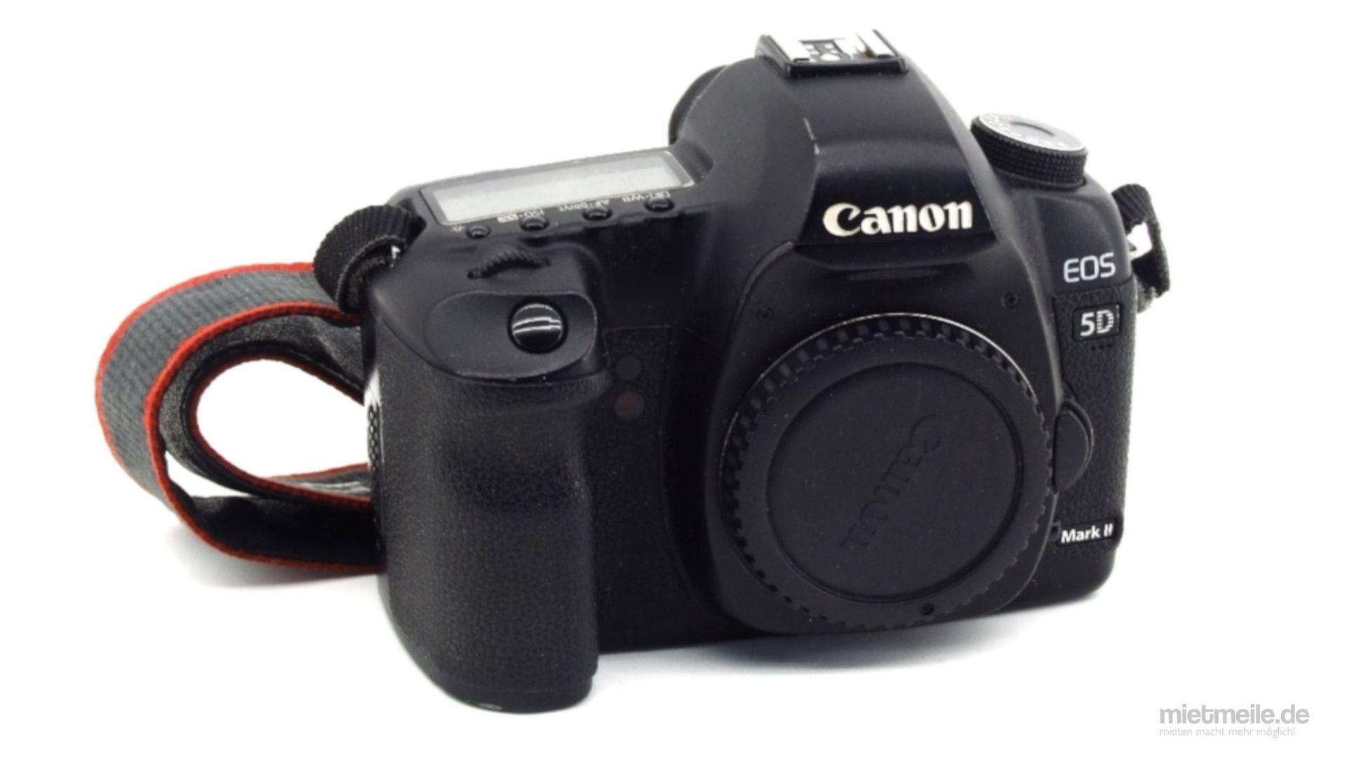 Fotokamera mieten & vermieten - Canon EOS 5D Mark II Spiegelreflex-Kamera DSLR Body in Schkeuditz