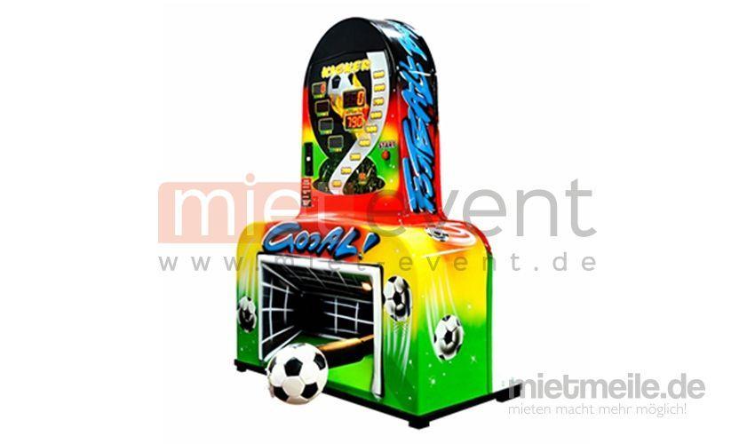 Fußball mieten & vermieten - Fußball Schusskraftmesser / Fußball Automat in München