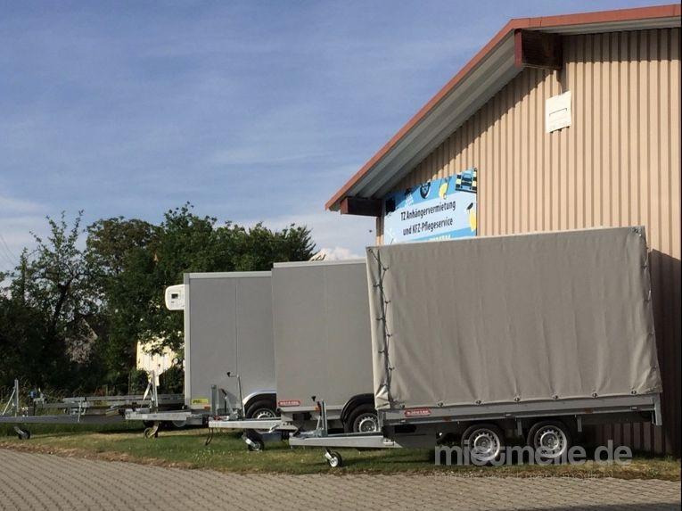 Autoanhänger mieten & vermieten - Fahrzeuganhänger/Autotransporter/Umzugsanhänger/Kofferanhänger/Kippanhänger/Kühlanhänger günstig zu vermieten                      in Baindt