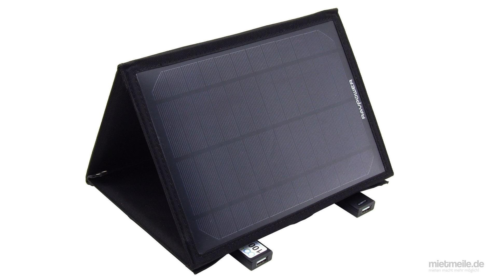 Elektronikzubehör mieten & vermieten - Ladegerät Solarladegerät Solar Panel in Schkeuditz