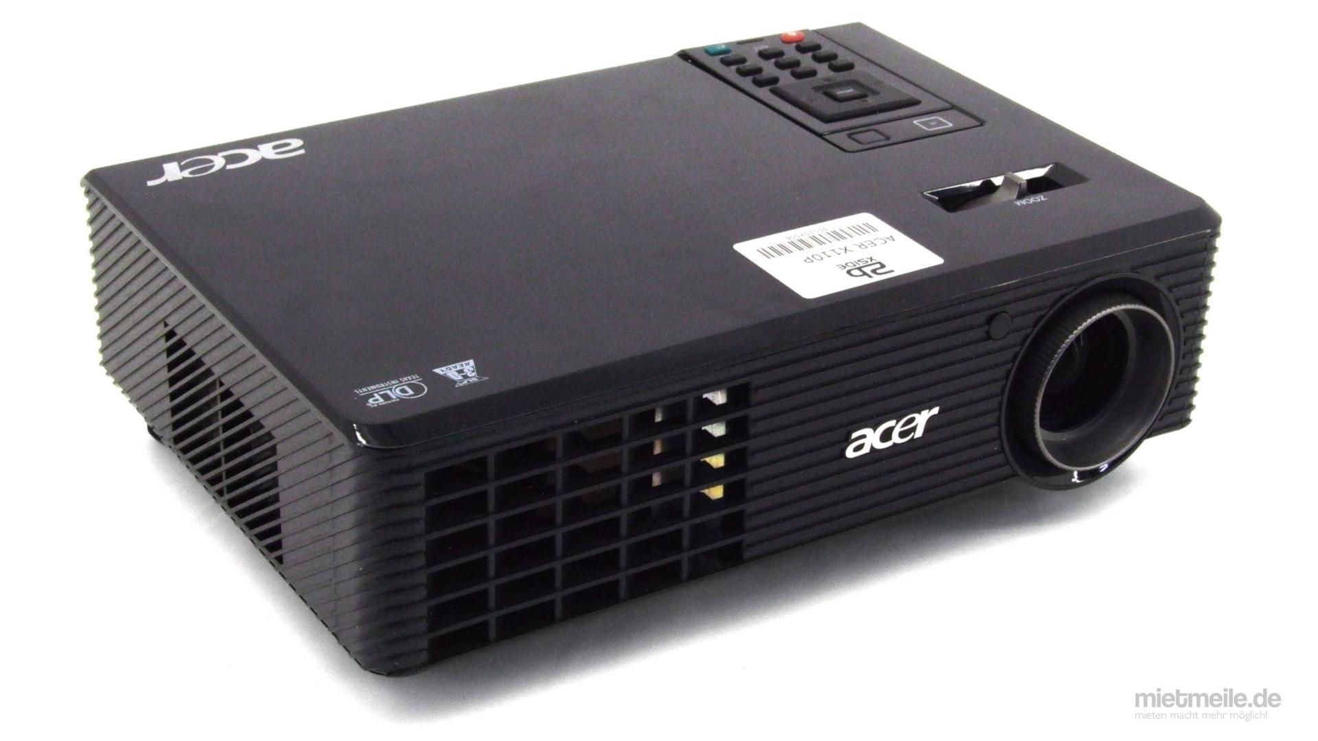 Beamer mieten & vermieten - Beamer Acer X110P DLP-Projektor 3D in Schkeuditz