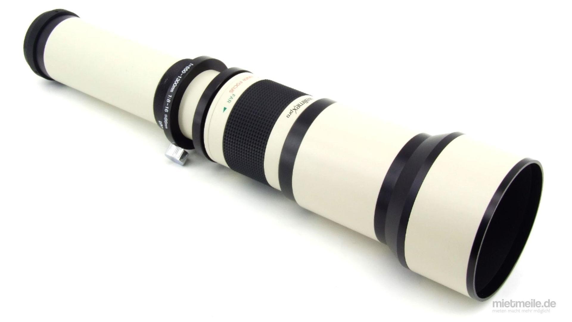 Objektive mieten & vermieten - Tele-Objektiv Zoom 650-1300mm Canon EF EOS in Schkeuditz
