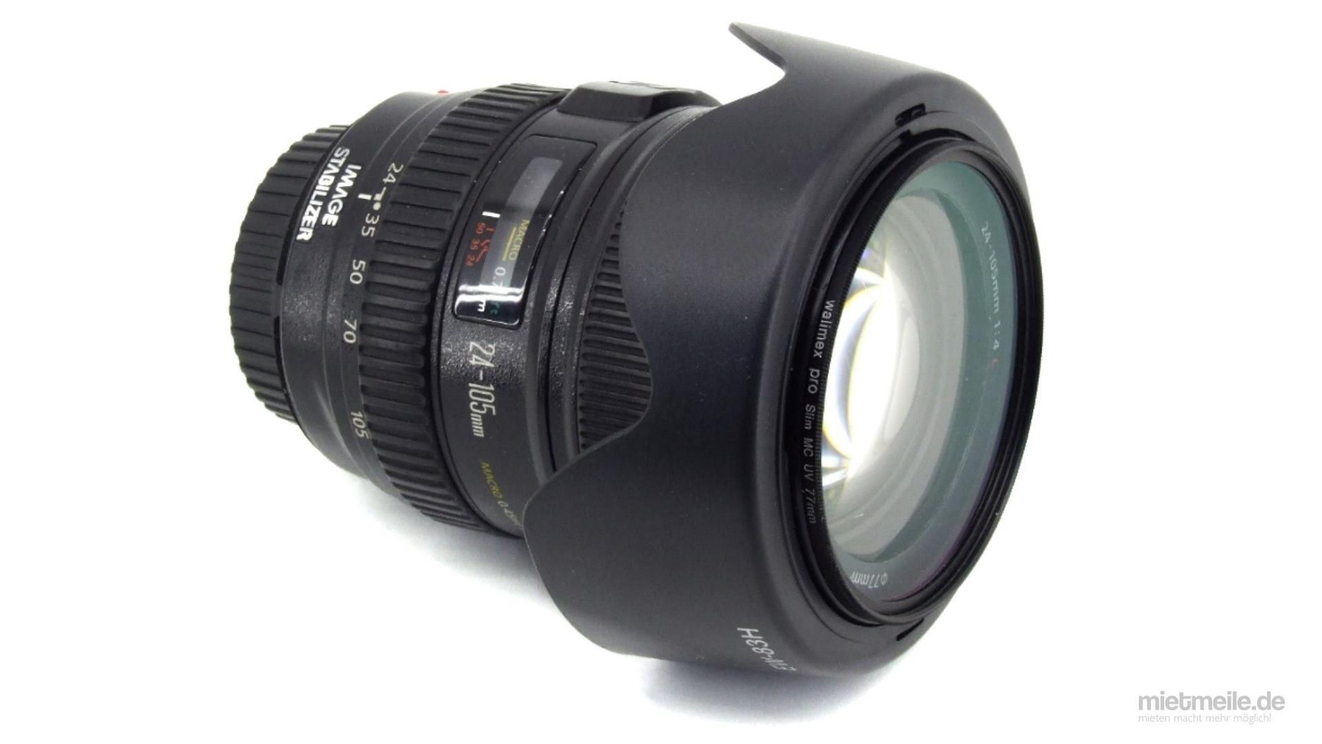 Objektive mieten & vermieten - Objektiv Canon EF 24-105mm f/4L IS USM in Schkeuditz