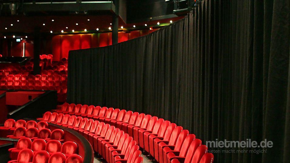 Kulissen mieten & vermieten - Vorhang / Curtain / Mobile Raumtrennung in Neunkirchen am Sand