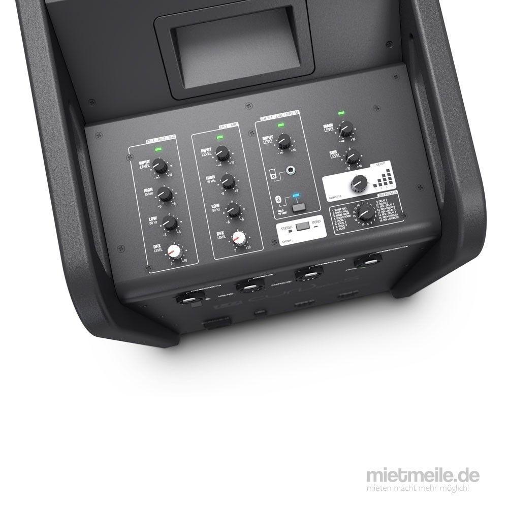 Musikanlage mieten & vermieten - Event Musik Anlage LD Systems CURV 500 DJ-Set in Bonn