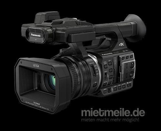 Videokamera mieten & vermieten - 4K Hochzeits- / Reportage VideoCamcorder Panasonic HC-X 1000 in Bonn