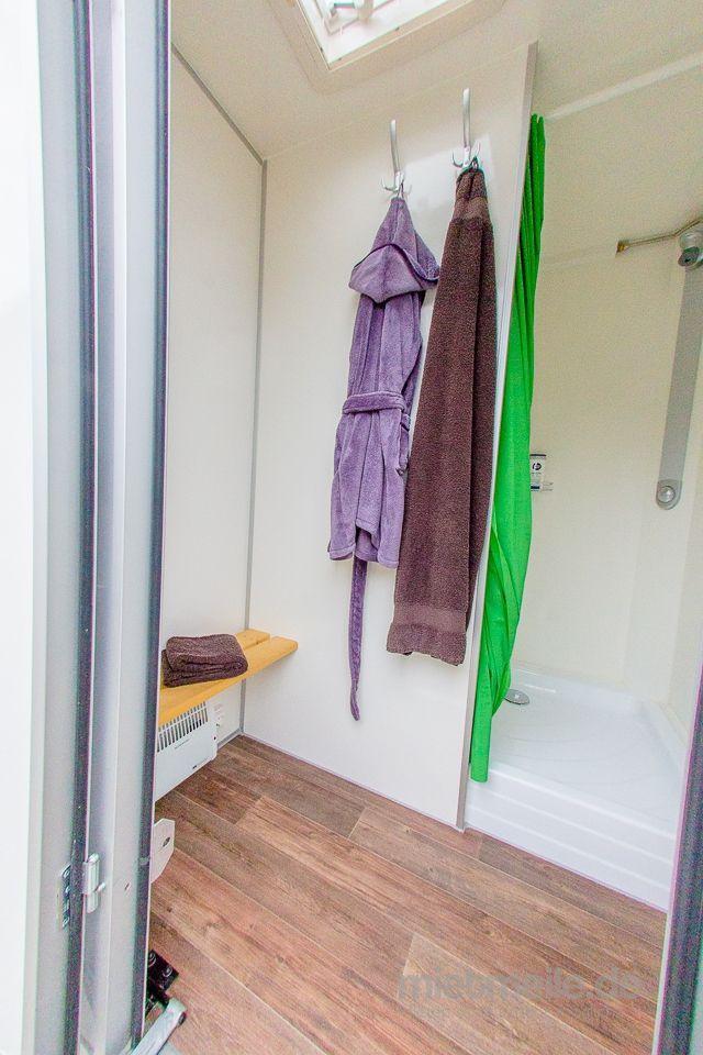 Duschcontainer mieten & vermieten - VIP Duschwagen in Dorsten
