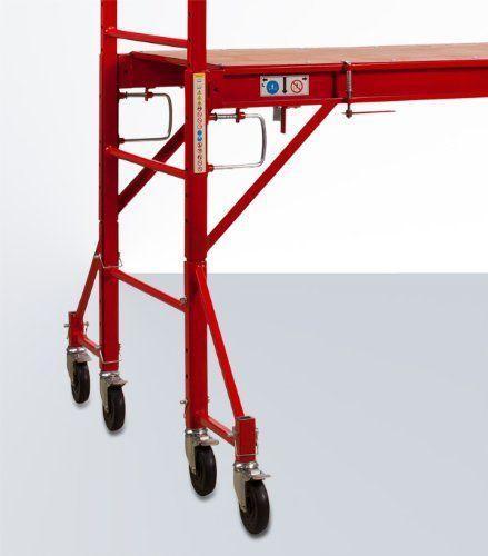Leiter mieten & vermieten - Zimmergerüst - Fahrgerüst - Baugerüst - Arbeitsgerüst - Rollgerüst Standhöhe bis 2,9 m = 4,9 m Arbeitshöhe in Elsdorf (Rheinland)