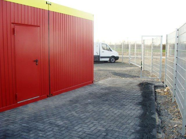 Büro-Container mieten & vermieten - Bürocontainer - Lagerraum - Lagercontainer 36 qm - Elsdorf - 1250 qm Abstellfläche eingezäunt in Elsdorf (Rheinland)