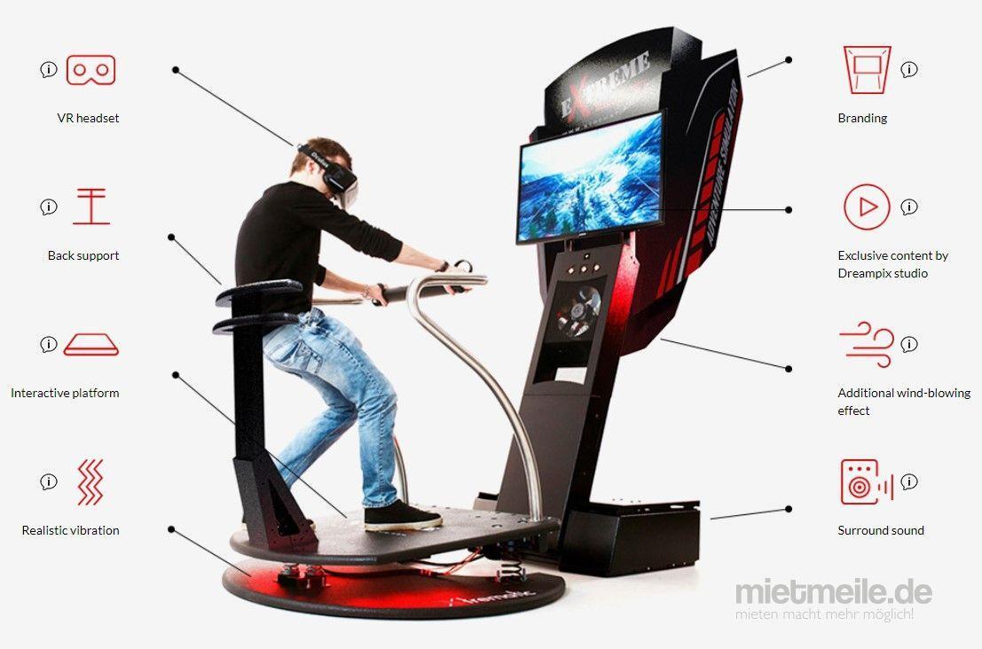 "Simulatoren mieten & vermieten - 5D Virtual Reality Simulator Angebot 890€ ""Extreme Machine"" in Waiblingen"